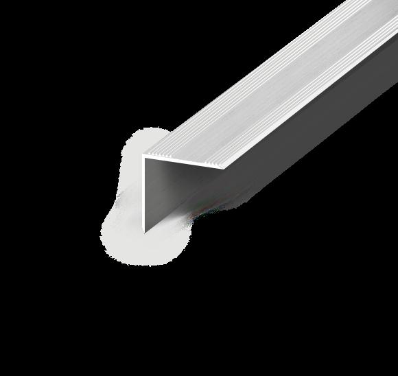Treppenwinkelprofil - Gebohrt