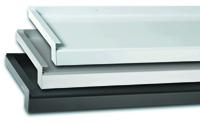 Aluminium-Fensterbänke in unterschiedlichen Abmessungen und unterschieldichen Oberflächenveredelung